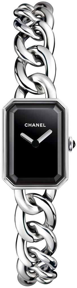 Chanel Premiere Dameklokke H3248 Sort/Stål 16x22 mm - Chanel
