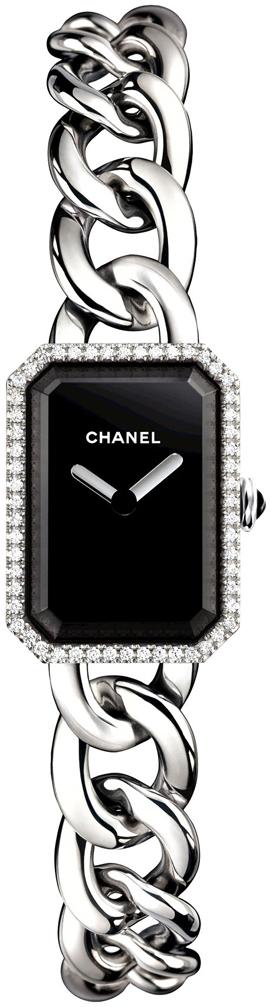 Chanel Premiere Dameklokke H3252 Sort/Stål 16x22 mm - Chanel
