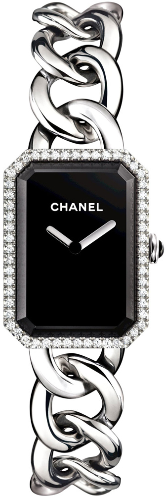 Chanel Premiere Dameklokke H3254 Sort/Stål 20x28 mm - Chanel