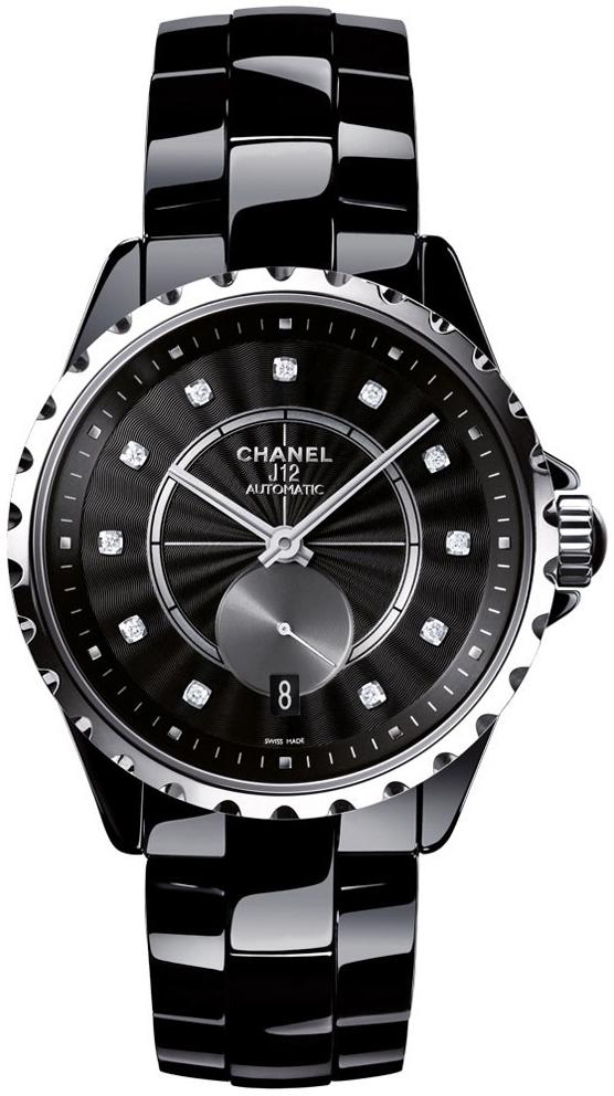 Chanel J12 Dameklokke H4344 Sort/Keramik Ø36.5 mm - Chanel