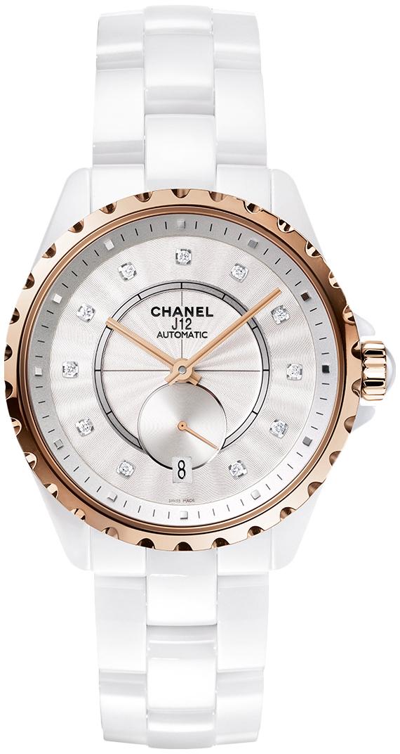 Chanel J12 Dameklokke H4359 Hvit/Keramik Ø36.5 mm - Chanel