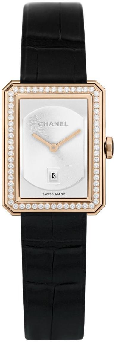 Chanel Boy-Friend Dameklokke H4469 Beige/Lær - Chanel