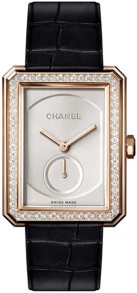 Chanel Boy-Friend Dameklokke H4471 Beige/Lær - Chanel