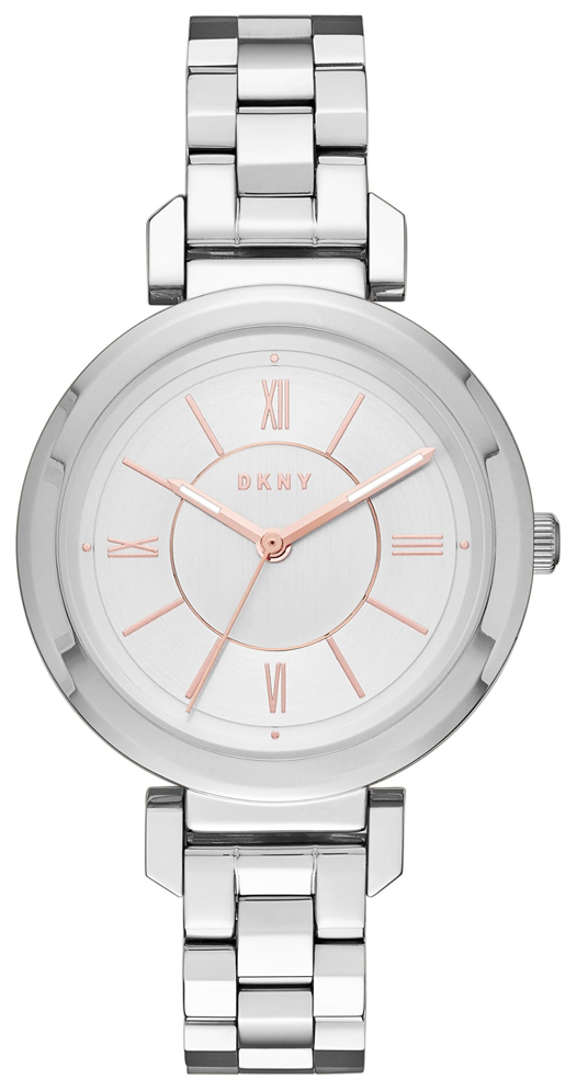 DKNY Dress Dameklokke NY2582 Sølvfarget/Stål Ø34 mm - DKNY