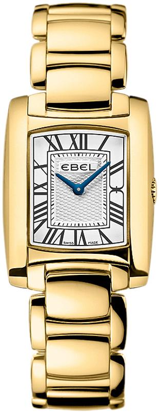 Ebel Brasilia Dameklokke 1216034 Sølvfarget/18 karat gult gull - Ebel