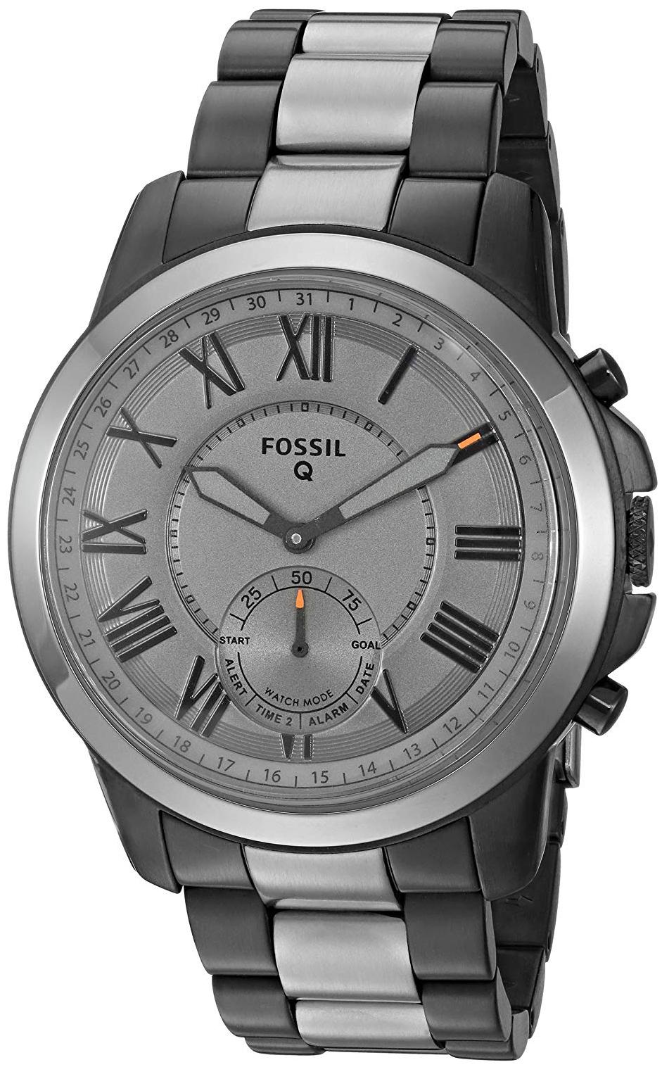 Fossil 99999 Herreklokke FTW1139 Grå/Stål Ø44 mm - Fossil