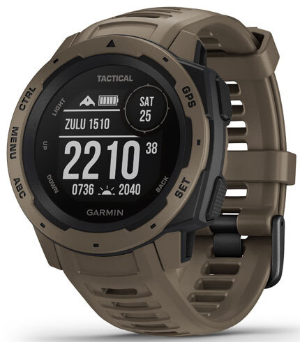 Garmin Instinct 010-02064-71 Sort/Gummi Ø45 mm - Garmin