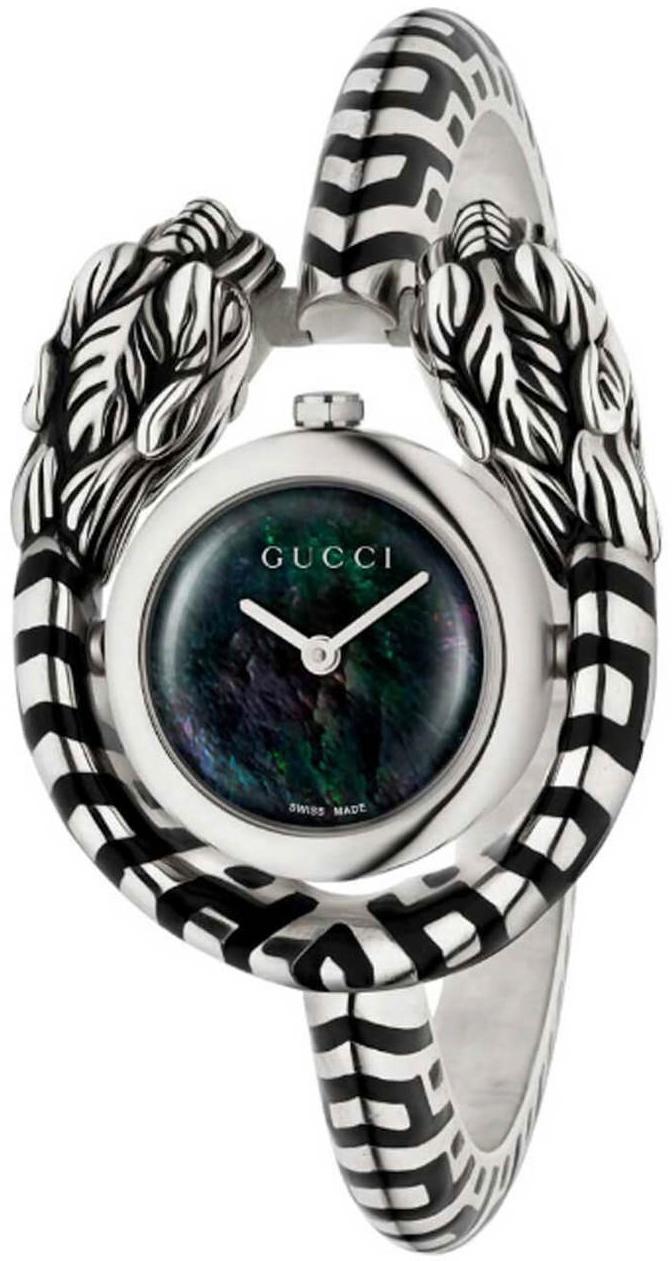 Gucci 99999 Dameklokke YA149501 Flerfarget/Stål Ø24 mm - Gucci