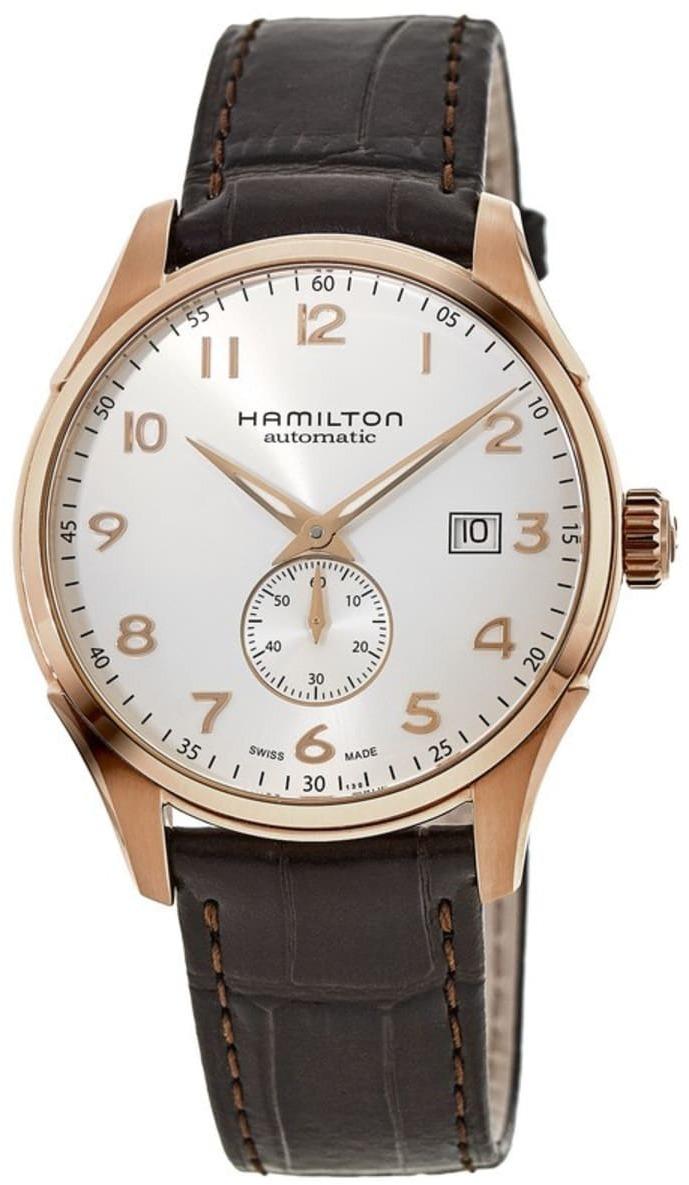 Hamilton American Classic Jazzmaster Herreklokke H42575513 Hvit/Lær - Hamilton
