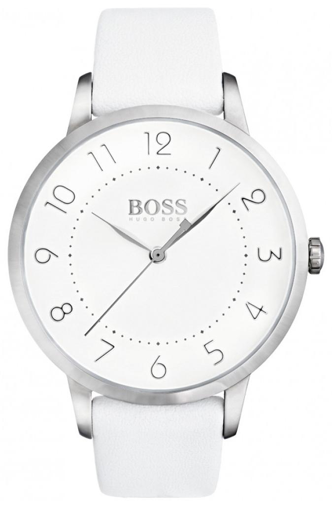 Hugo Boss 99999 Dameklokke 1502409 Hvit/Lær Ø36 mm - Hugo Boss