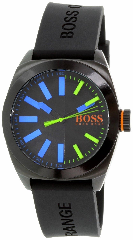 Hugo Boss 99999 Herreklokke 1513053 Sort/Gummi Ø45 mm - Hugo Boss