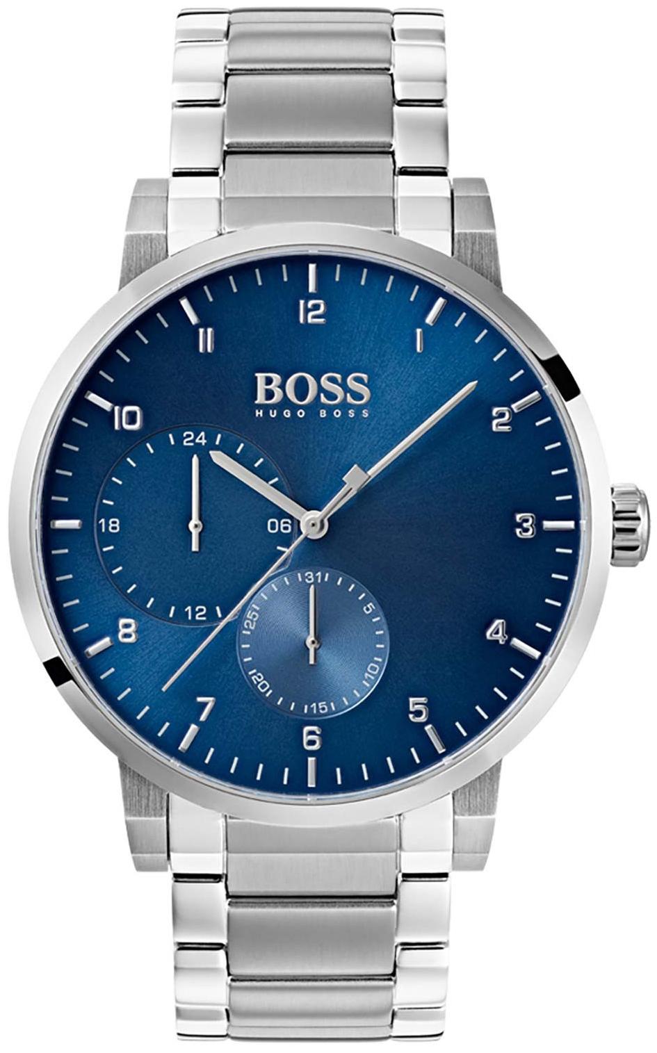 Hugo Boss 99999 Herreklokke 1513597 Blå/Stål Ø42 mm - Hugo Boss