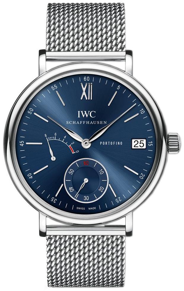 IWC Portofino Herreklokke IW510116 Blå/Stål Ø45 mm - IWC