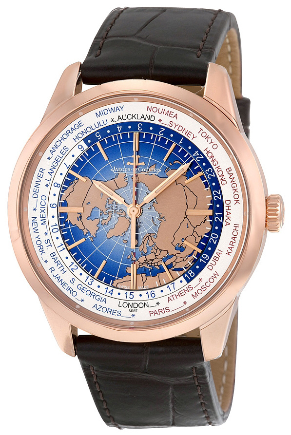 Jaeger LeCoultre Geophysic® Universal Time Pink Gold Herreklokke - Jaeger LeCoultre