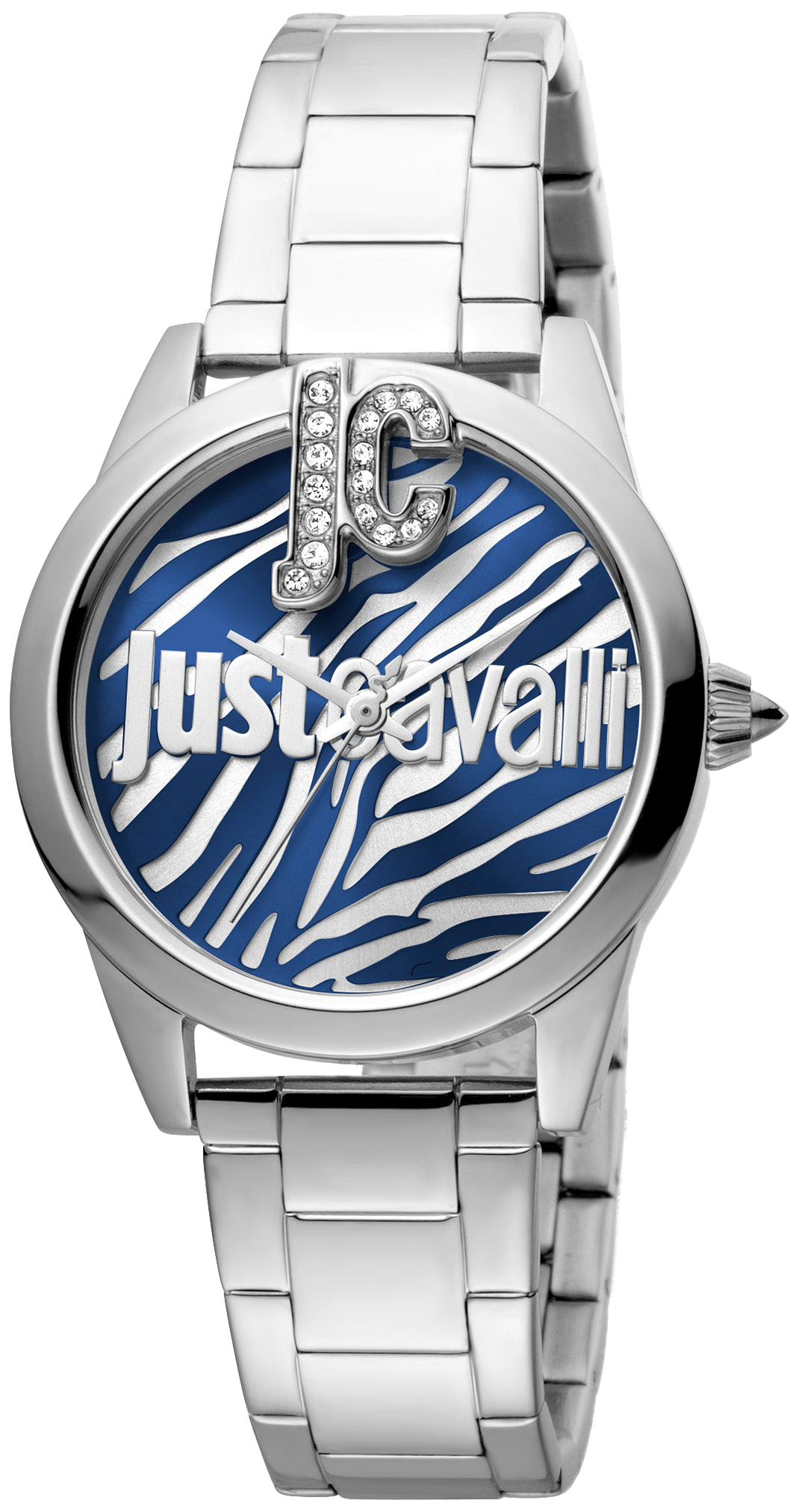 Just Cavalli 99999 Dameklokke JC1L099M0065 Flerfarget/Stål Ø32 mm - Just Cavalli