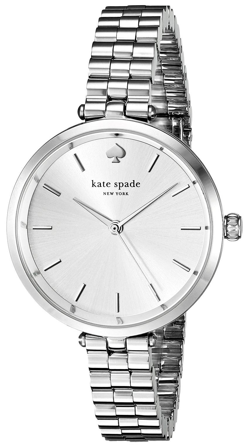 Kate Spade 99999 Dameklokke 1YRU0859 Sølvfarget/Stål Ø34 mm - Kate Spade