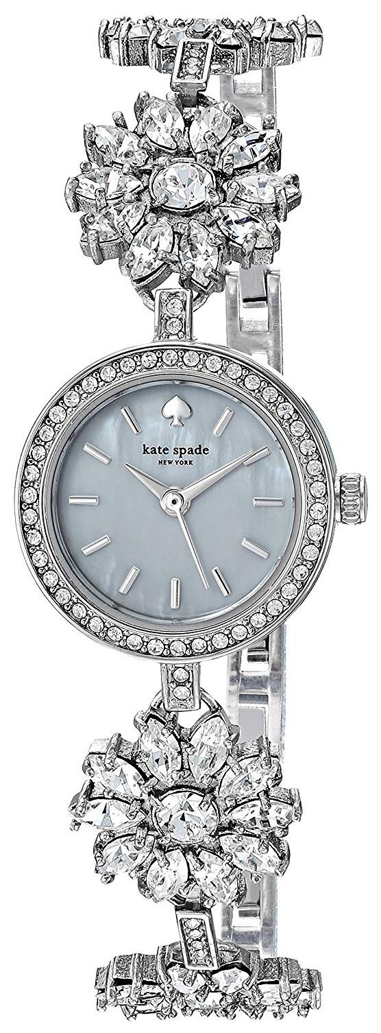 Kate Spade 99999 Dameklokke KSW1315 Hvit/Stål Ø20.5 mm - Kate Spade