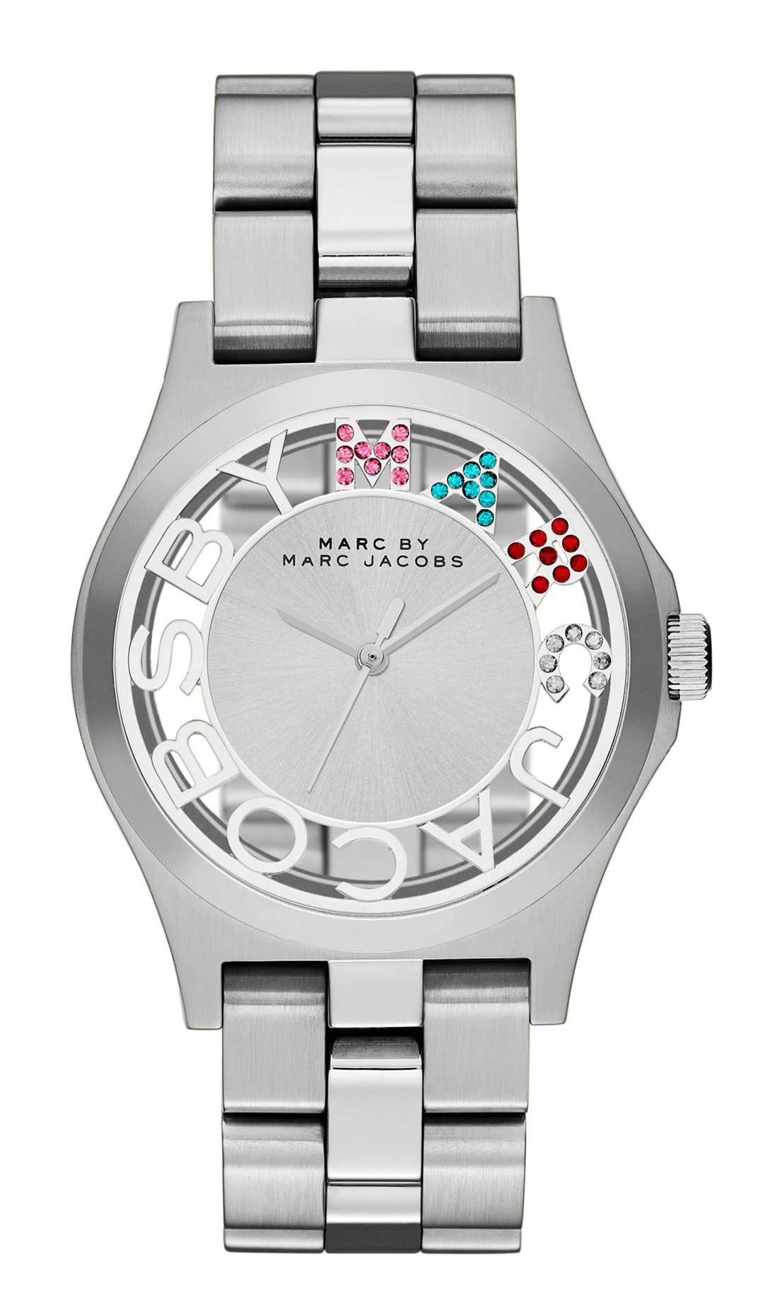 Marc by Marc Jacobs Henry Skeleton Dameklokke MBM3262 - Marc by Marc Jacobs