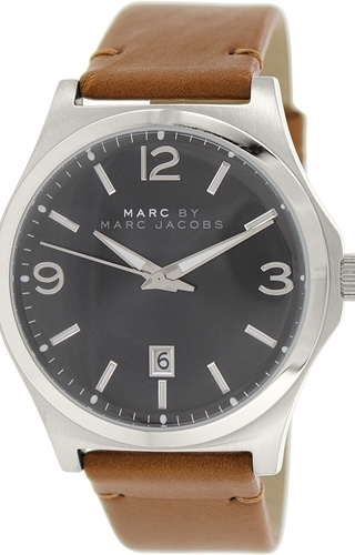 Marc by Marc Jacobs Danny Herreklokke MBM5039 Sort/Lær Ø42 mm - Marc by Marc Jacobs