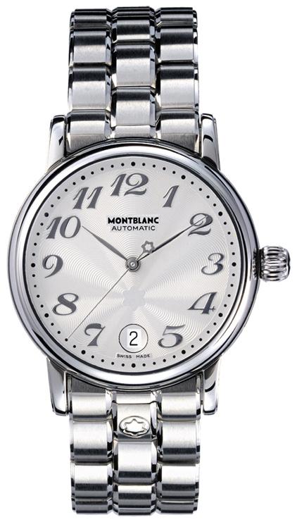 Montblanc Star Herreklokke 5224 Sølvfarget/Stål Ø36 mm - Montblanc