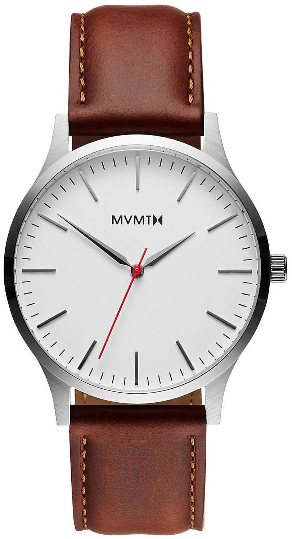 MVMT Series Herreklokke MT01-SNA Hvit/Lær Ø40 mm - MVMT