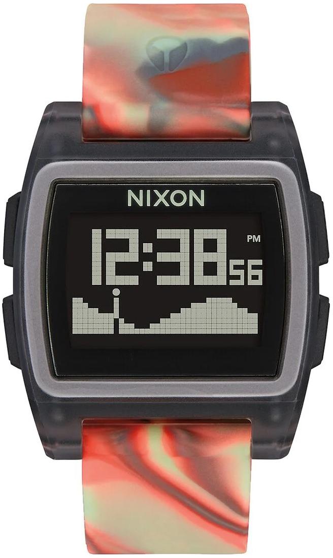 Nixon 99999 Herreklokke A11043178-00 LCD/Gummi - Nixon