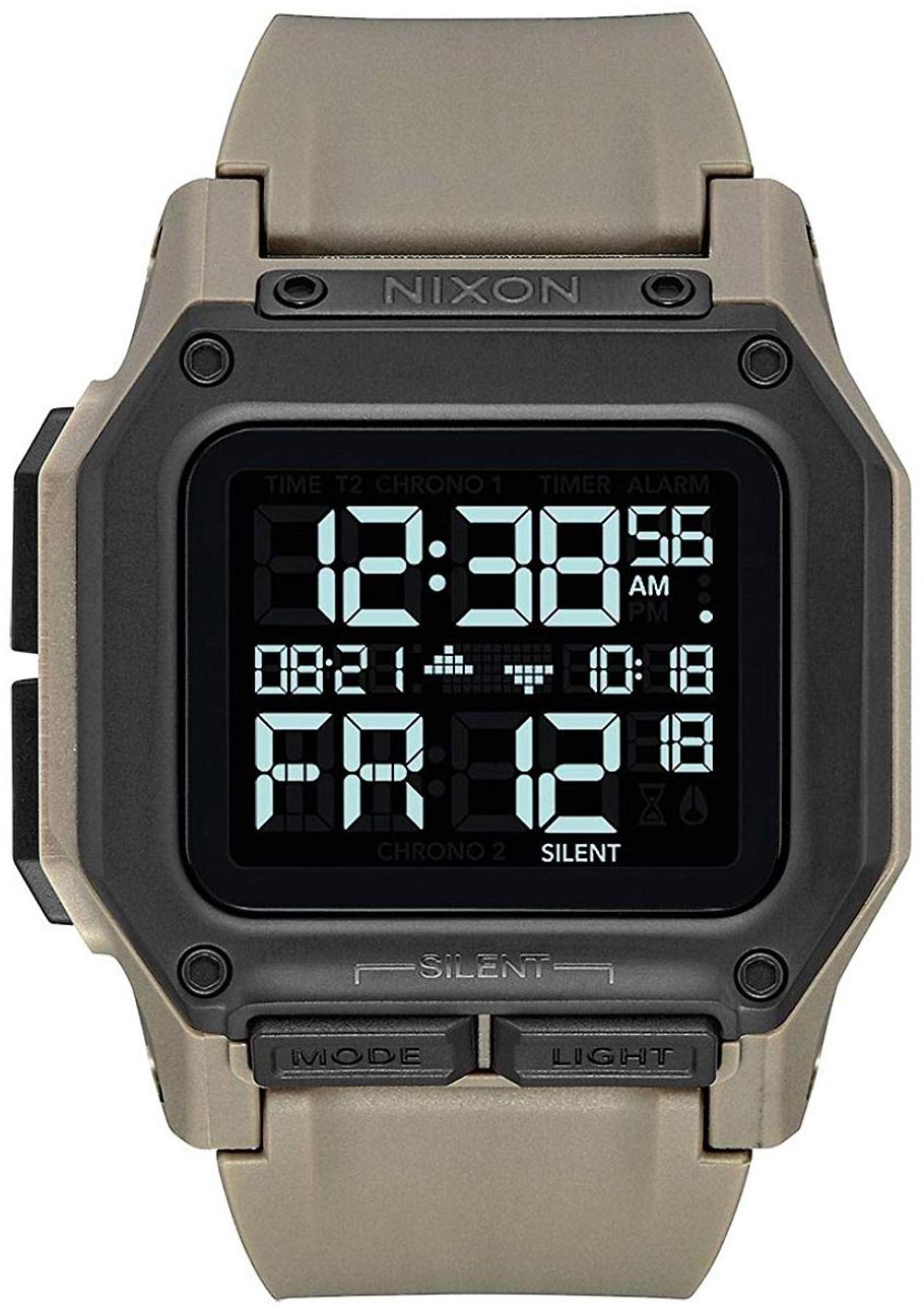 Nixon 99999 Herreklokke A11802711-00 LCD/Gummi - Nixon