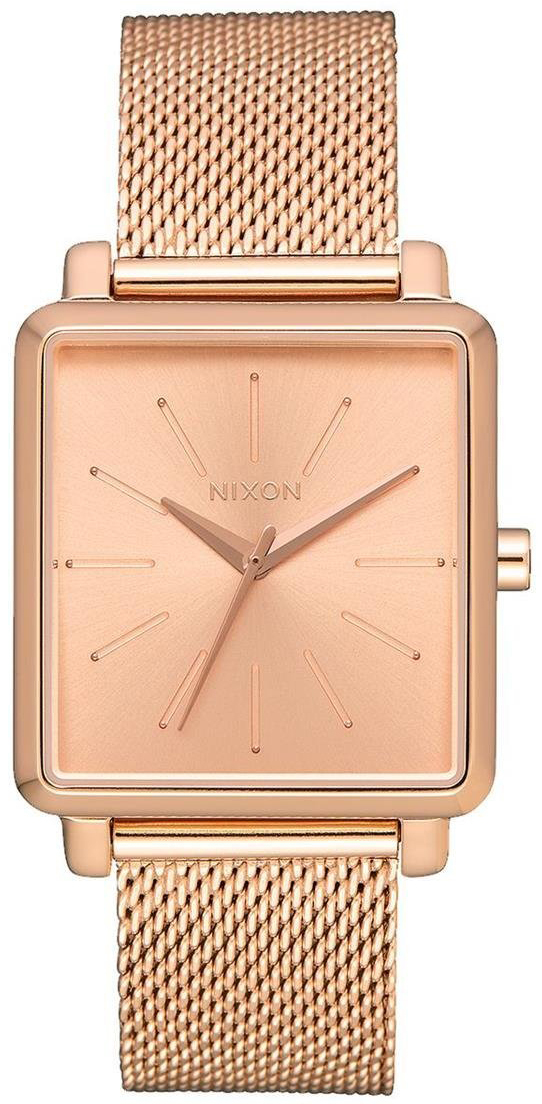 Nixon 99999 Dameklokke A1206897-00 Rosegullfarget/Rose-gulltonet stål - Nixon