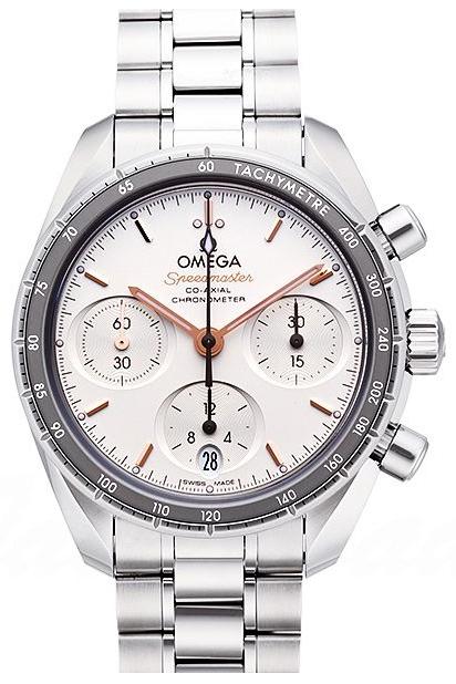 Omega Speedmaster Chronograph 38Mm Dameklokke 324.30.38.50.02.001 - Omega