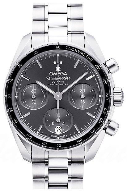 Omega Speedmaster Chronograph 38Mm Dameklokke 324.30.38.50.06.001 - Omega