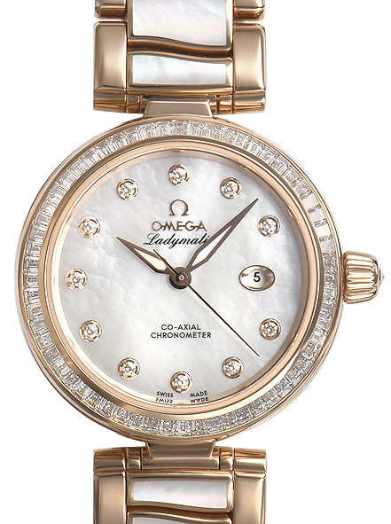 Omega De Ville Ladymatic Co-Axial 34mm Dameklokke 425.65.34.20.55.007 - Omega