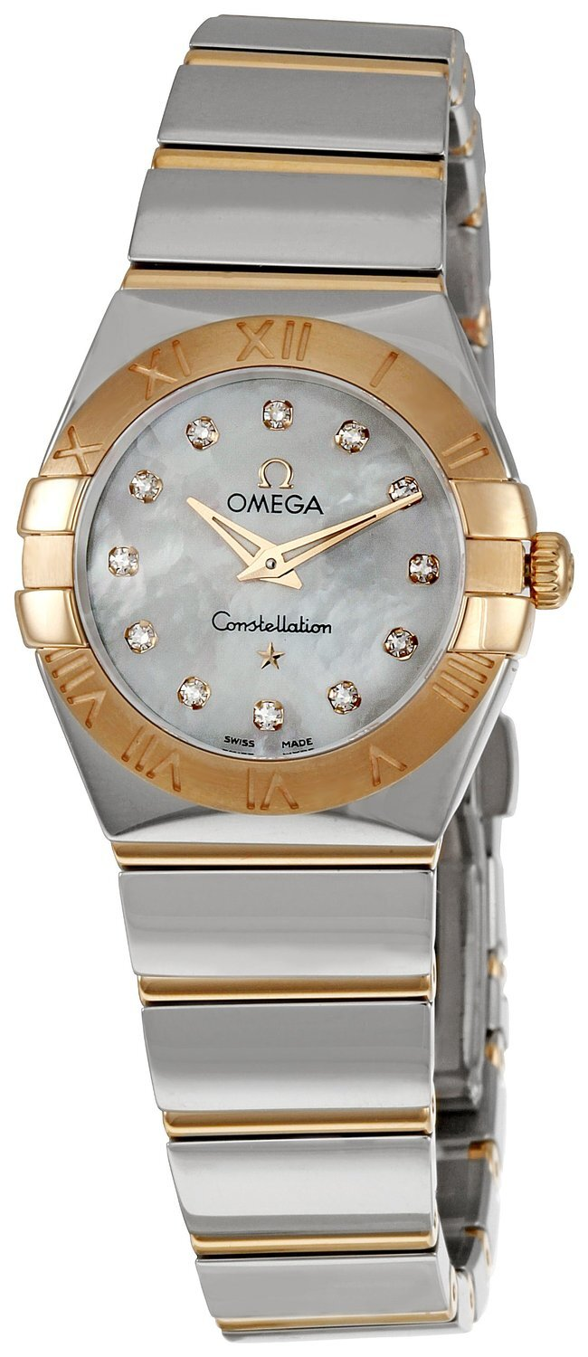 Omega Constellation Quartz 24mm Dameklokke 123.20.24.60.55.003 - Omega