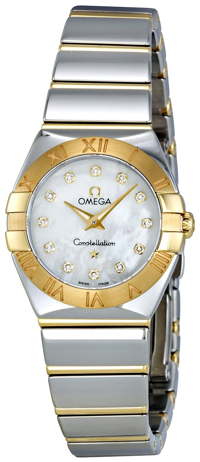 Omega Constellation Quartz 24mm Dameklokke 123.20.24.60.55.004 - Omega