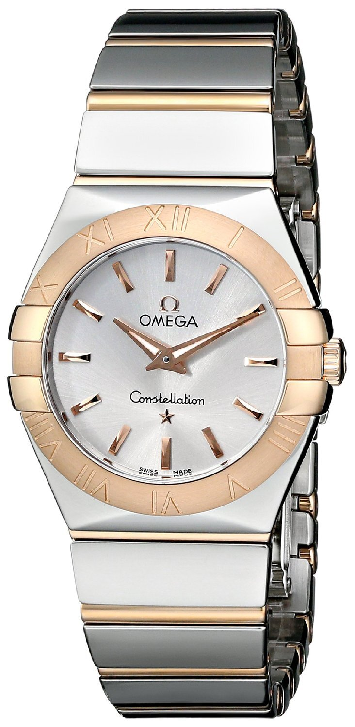 Omega Constellation Quartz 27mm Dameklokke 123.20.27.60.02.003 - Omega