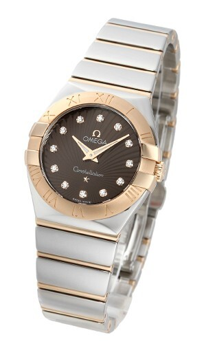 Omega Constellation Quartz 27mm Dameklokke 123.20.27.60.63.002 - Omega