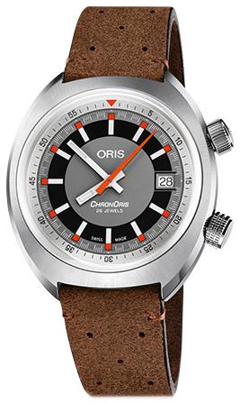 Oris Motor Sport Herreklokke 01 733 7737 4053-07 5 19 43 Grå/Lær - Oris