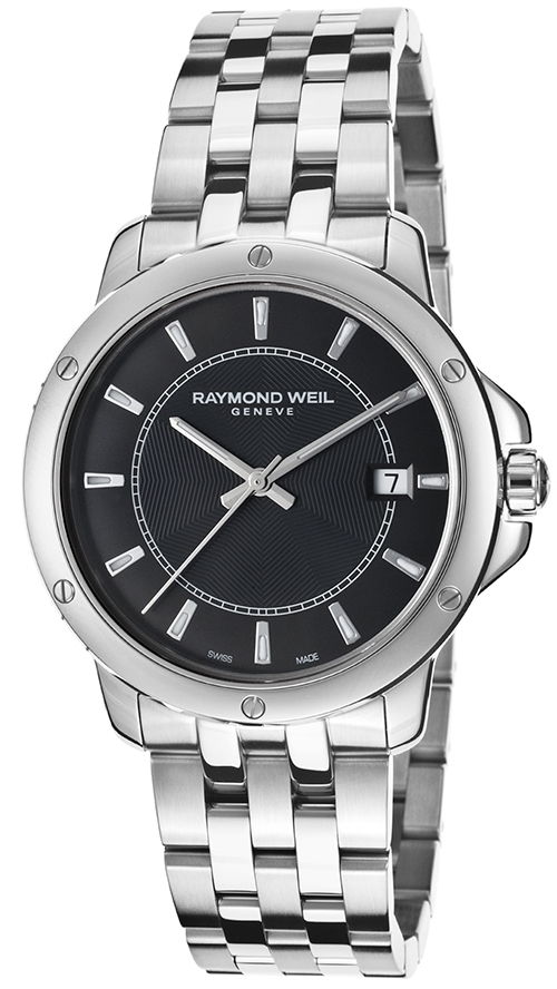Raymond Weil Raymond Tango Dameklokke 5591-ST-20001 Sort/Stål Ø39 mm - Raymond Weil