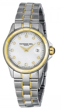 Raymond Weil Parsifal Dameklokke 9460-SG-97081 Hvit/Stål Ø28 mm - Raymond Weil