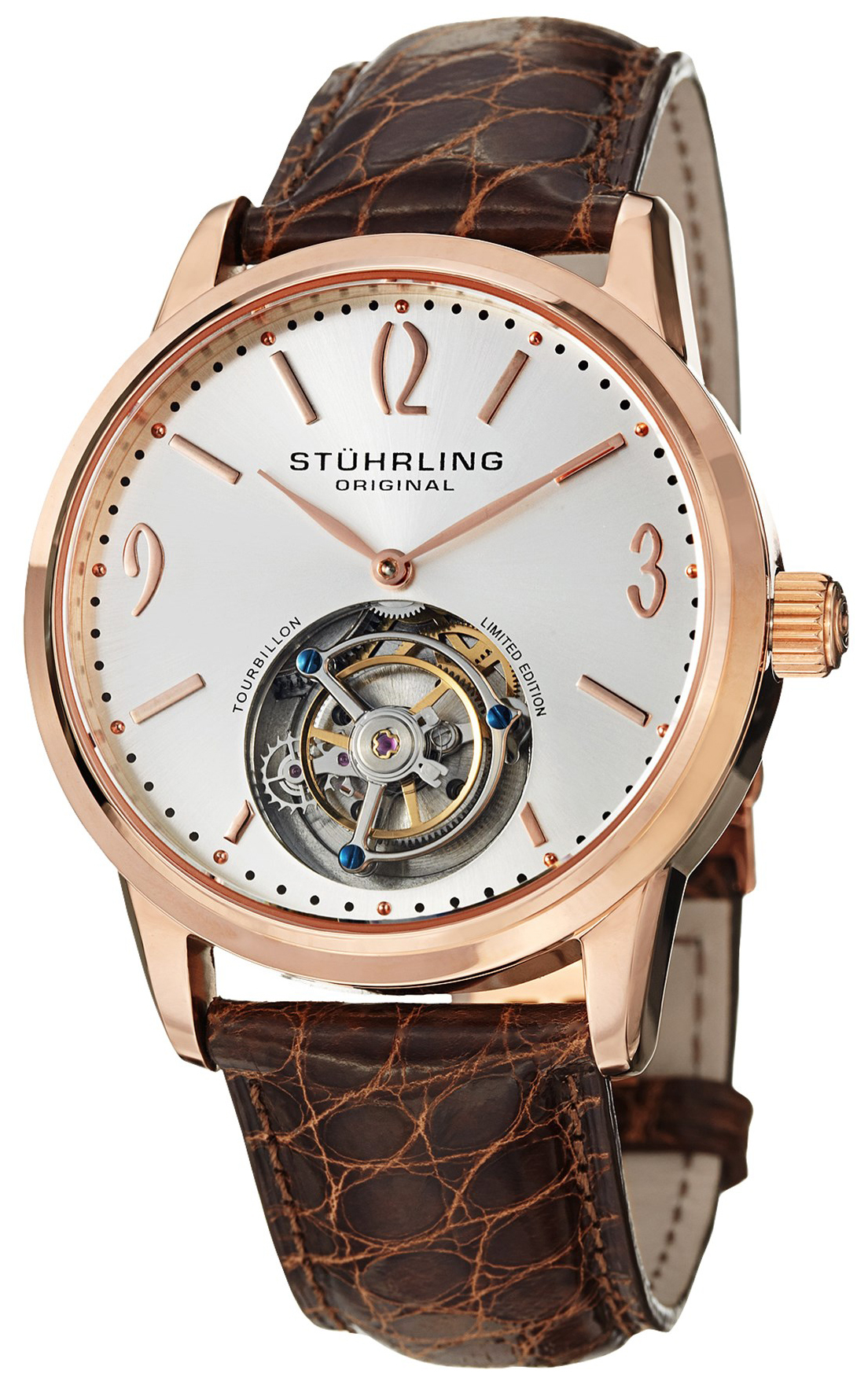 Stührling Original Tourbillon Herreklokke 542.334XK2 - Stührling Original