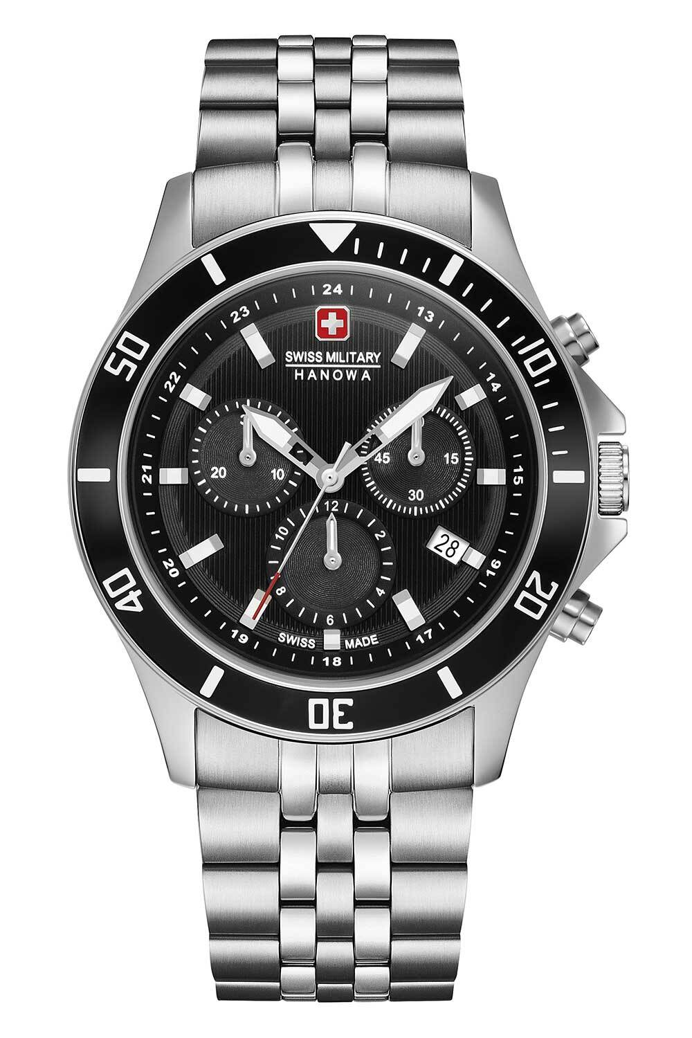 Swiss Military Flagship Chrono II Herreklokke 06-5331.04.007 - Swiss Military