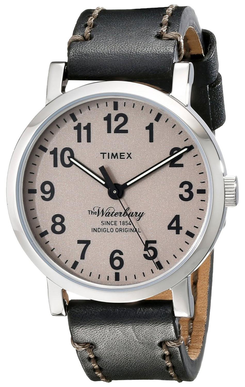 Timex 99999 Herreklokke TW2P58800AB Brun/Lær Ø40 mm - Timex