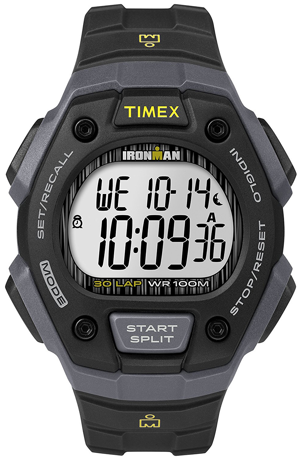 Timex Ironman Herreklokke TW5M09500 LCD/Resinplast - Timex