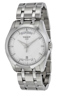 Tissot Luxury Herreklokke T035.407.11.031.00 Sølvfarget/Stål Ø39 mm - Tissot