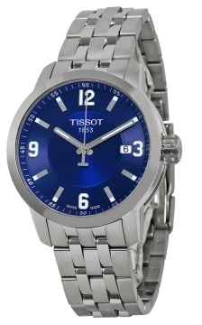 Tissot PRC 200 Herreklokke T055.410.11.047.00 Blå/Stål Ø39.3 mm - Tissot