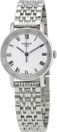 Tissot T-Classic Dameklokke T109.210.11.033.10 Hvit/Stål Ø30 mm - Tissot