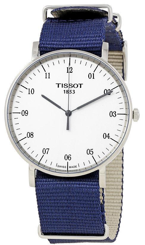 Tissot T-Classic Herreklokke T109.610.17.037.00 Hvit/Stål Ø42 mm - Tissot