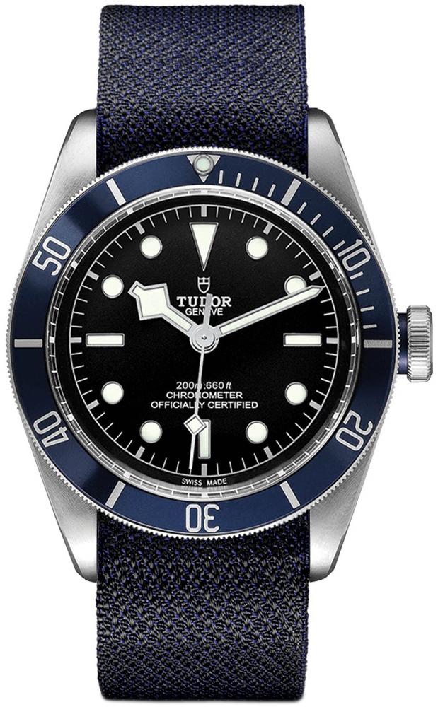 Tudor Black Bay Herreklokke 79230b-0006 Sort/Tekstil Ø41 mm - Tudor