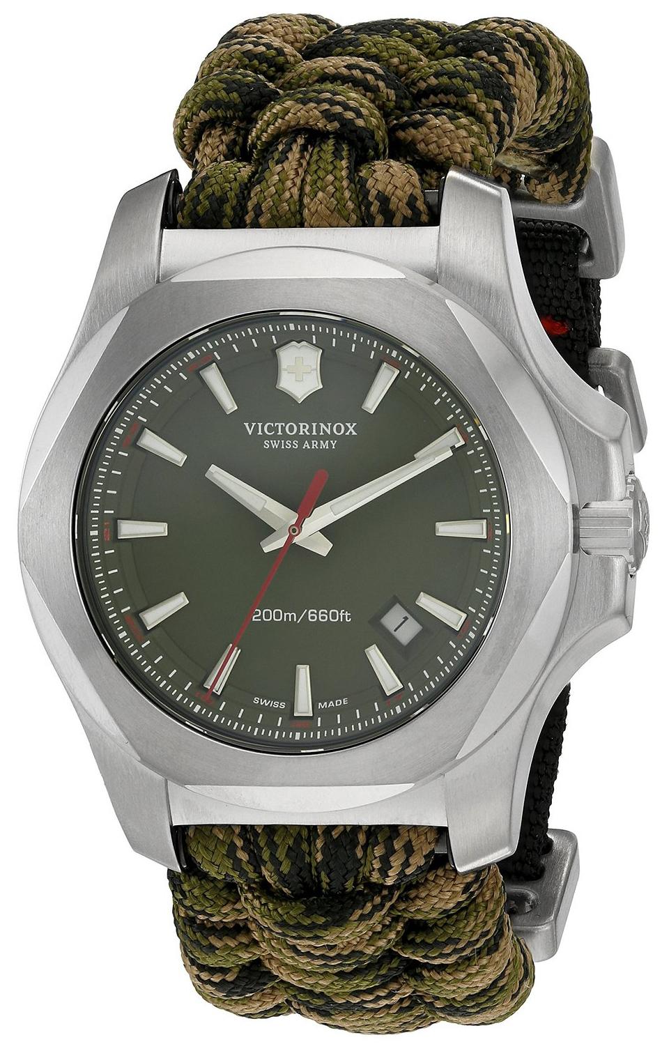 Victorinox 99999 Herreklokke 241727 Grønn/Stål Ø43 mm - Victorinox