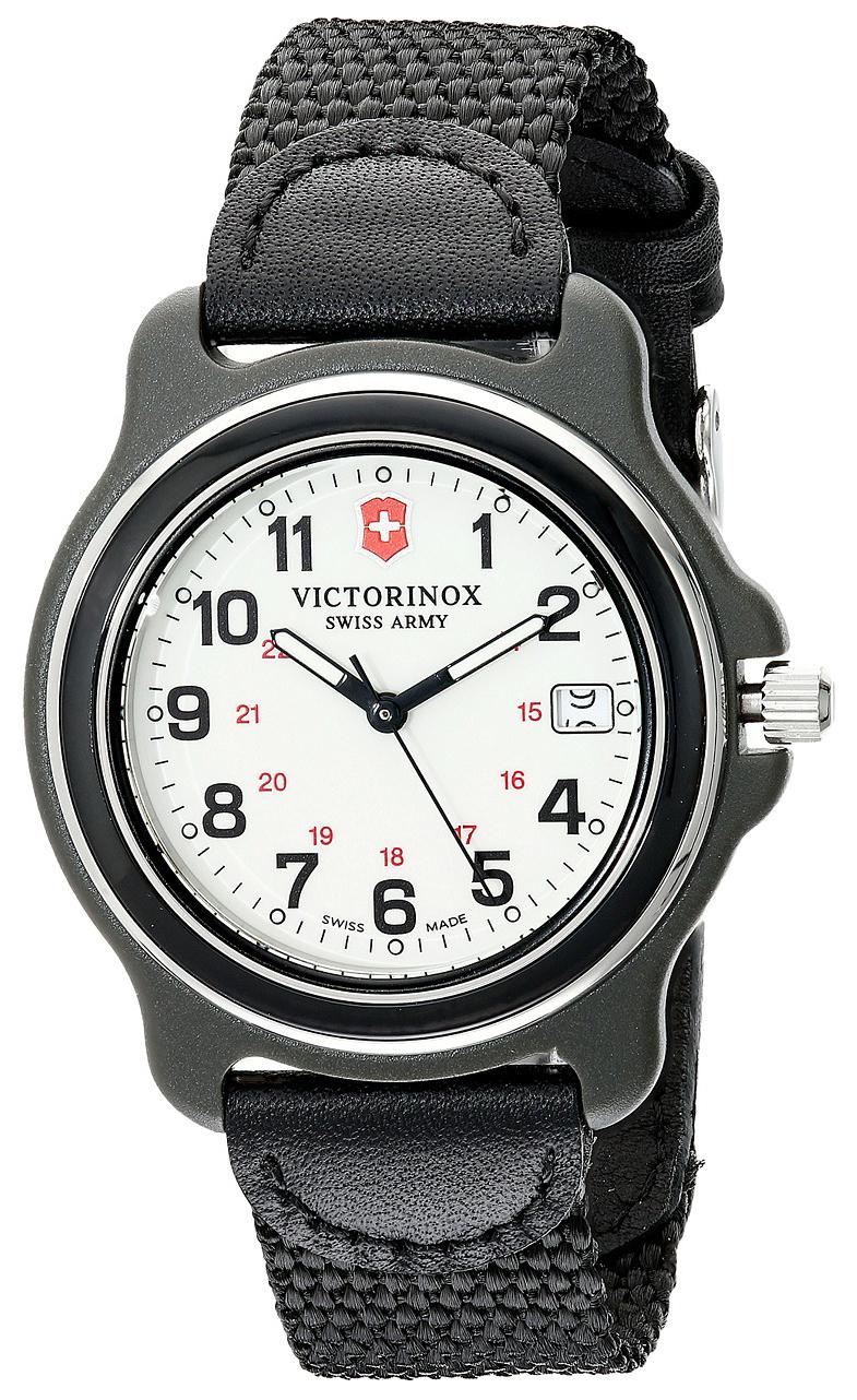 Victorinox Original Herreklokke 249089 Hvit/Lær Ø39 mm - Victorinox