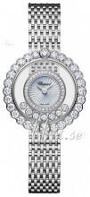 Chopard Happy Diamonds Icons Hvit/18 karat hvitt gull Ø30.3 mm